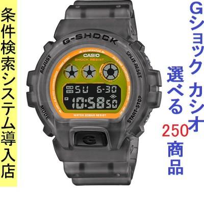 腕時計 メンズ カシオ(CASIO) Gショック(G-SHOCK) 6900型 デジタル クォーツ クリアグレー/イエロー色 111QDW6900LS1 / 当店再検品済