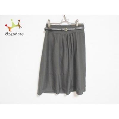 ジャスグリッティー JUSGLITTY スカート サイズ0 XS レディース ダークブラウン       スペシャル特価 20200425