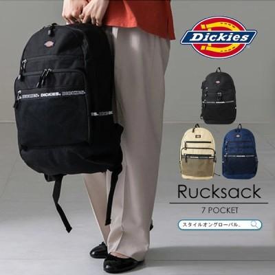 リュック 大容量 レディース メンズ リュックサック ディッキーズ バックパック おしゃれ 軽量 デイパック a4 通勤 通学 旅行 ユニセックス 学生 アウトドア