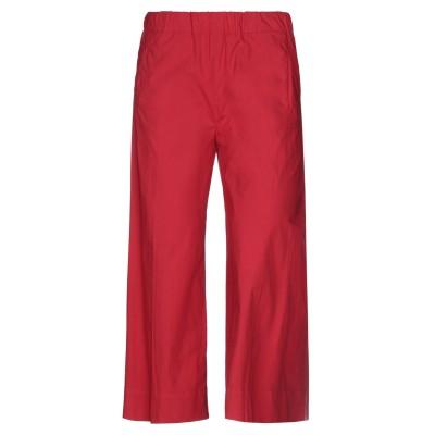 トゥルーニューヨーク TRUE NYC® パンツ レッド 30 コットン 95% / ポリウレタン 5% パンツ