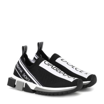 ドルチェ&ガッバーナ Dolce & Gabbana レディース スリッポン・フラット シューズ・靴 sorrento sneakers Nero/Bianco