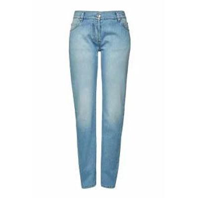 Balmain レディースパンツ Balmain Straight Leg Jeans