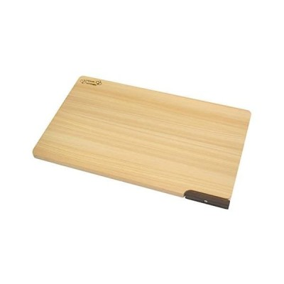 ダイワ産業 まな板 (大) 木製 ひのき 食洗機対応 軽量 スタンド付き 日本製 防カビ 撥水加工  (39cm)