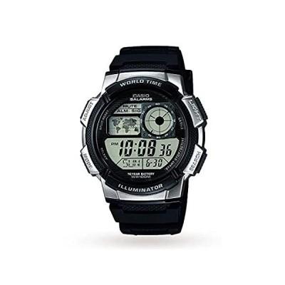 Casio (カシオ) コレクション メンズ 腕時計 AE-1000W ブラック/シルバー