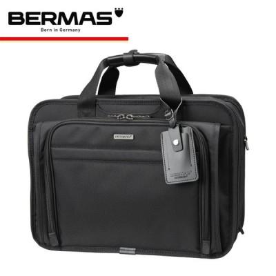 バーマス BERMAS ブリーフケース ファンクションギアプラス 60435 ブラック  FUNCTION GEAR PLUS 2WAY 2層エキスパンダブル キャリーオンバッグ [PO10]
