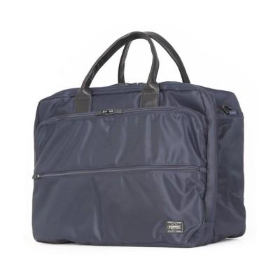 【カバンのセレクション】 吉田カバン ポーター タイム ビジネスバッグ オーバーナイター メンズ 大容量 A4 PORTER 655-08295 ユニセックス ネイビー 在庫 Bag&Luggage SELECTION