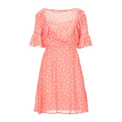 KARTIKA ミニワンピース&ドレス ピンク 38 ポリエステル 100% ミニワンピース&ドレス