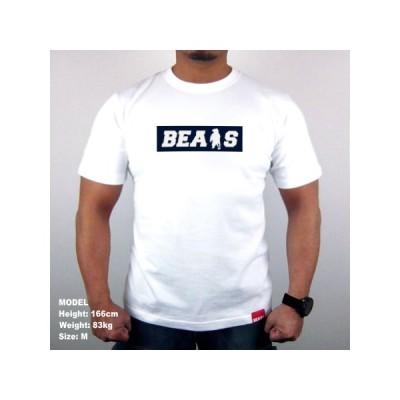 "■ BEARS TOKYO Tシャツ ""BEARS ANIMAL BEAR BOX LOGO"" (ベアーズアニマルベアーボックスロゴ) ホワイト"