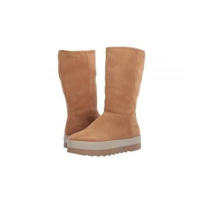 Cougar クーガー レディース 女性用 シューズ 靴 ブーツ スタイルブーツ アンクル ショートブーツ Vail Waterproof - Camel Suede