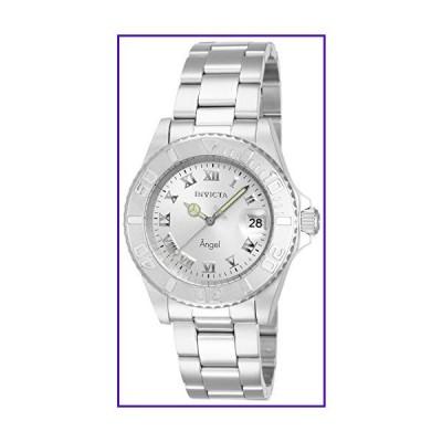 Invicta Women's 14320 Angel Analog Display Swiss Quartz Silver Watch 並行輸入品