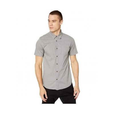 O'Neill オニール メンズ 男性用 ファッション ボタンシャツ Service Short Sleeve Shirt - Light Grey Heather
