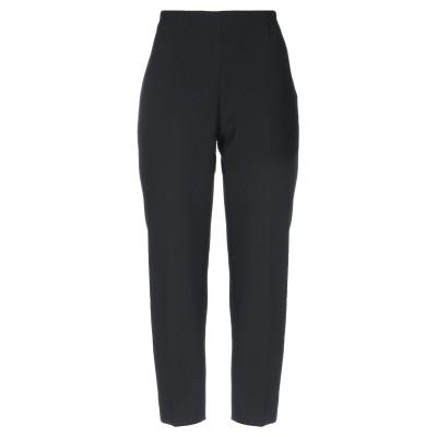 OVERLAPPING パンツ ブラック 46 ポリエステル 64% / レーヨン 27% / コットン 6% / ポリウレタン 3% パンツ