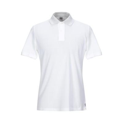 イレブンティ ELEVENTY ポロシャツ ホワイト S コットン 100% ポロシャツ