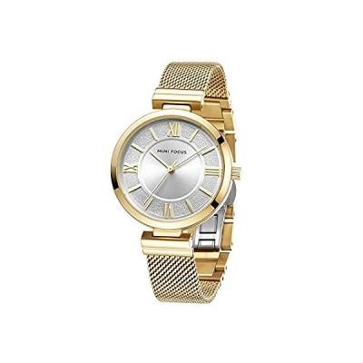 特別価格MINI FOCUS Stainless Steel Mesh Strap Quartz Watches Women 2020 Luxury Fash好評販売中