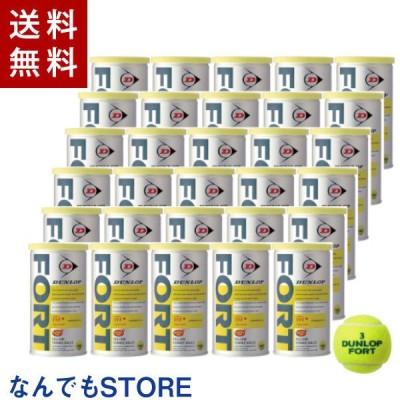 新品 ダンロップ DUNLOP 硬式テニスボール FORT フォート 5ダース(2個入缶×30缶) イエロー 4907913828362