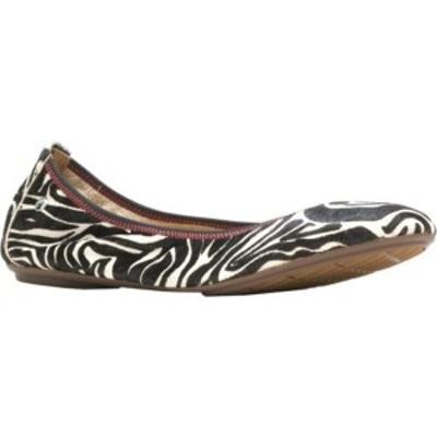 ハッシュパピー レディース サンダル シューズ Chaste Ballet Flat Zebra Calf Hair