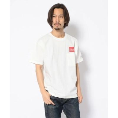 RAWLIFE / Manhattan Portage/マンハッタン ポーテージ/Box Logo SS T-Shirt with Pocket/ボックスロゴポケットTシャツ/20SS-MP-M322 MEN トップス > Tシャツ/カットソー