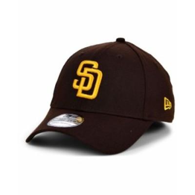 ニューエラ レディース 帽子 アクセサリー San Diego Padres Team Classic 39THIRTY Cap Brown