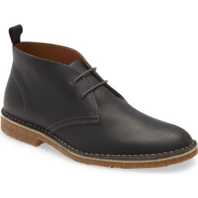 ノードストローム NORDSTROM メンズ ブーツ チャッカブーツ シューズ・靴 Hudson Chukka Boot Black Oiled Leather