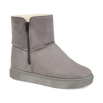 ジャーニーコレクション ブーツ&レインブーツ シューズ レディース Women's Stelly Winter Boots Gray