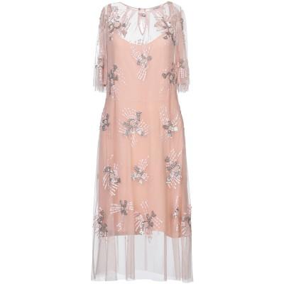 ANNA RACHELE 7分丈ワンピース・ドレス ピンク 40 ナイロン 100% 7分丈ワンピース・ドレス