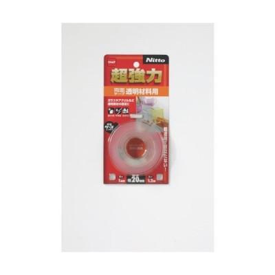 ニトムズ 超強力両面テープ透明材料用20×1.2 T4611 ( T4611 ) (株)ニトムズ