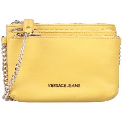 VERSACE JEANS メッセンジャーバッグ イエロー ポリエステル 100% / ポリウレタン樹脂 メッセンジャーバッグ