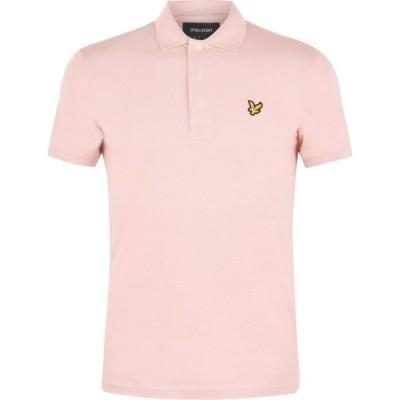 ライル アンド スコット Lyle and Scott メンズ ポロシャツ トップス Logo Polo Shirt Dusty Pink