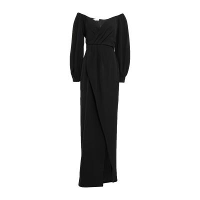 SIMONA-A ロングワンピース&ドレス ブラック XS ナイロン 96% / ポリウレタン 4% ロングワンピース&ドレス
