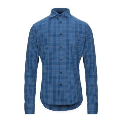ブライアン デールズ BRIAN DALES シャツ ブルー 40 コットン 100% シャツ