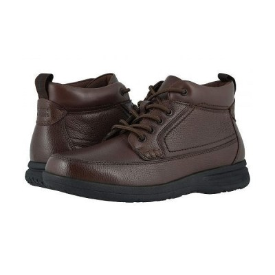 Nunn Bush ナンブッシュ メンズ 男性用 シューズ 靴 ブーツ レースアップ Cam Moc Toe Boot - Brown Tumbled
