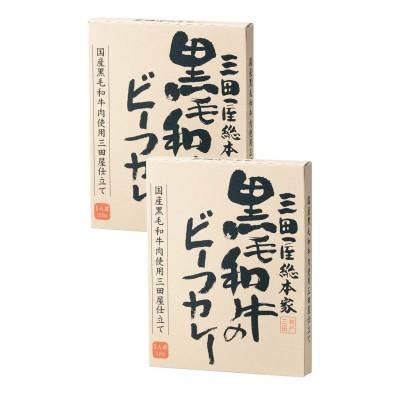黒毛和牛のビーフカレー 8食(三田屋総本家)