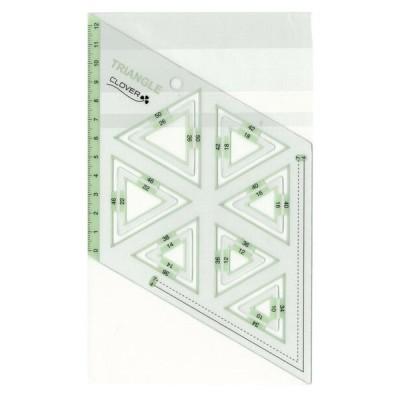 クロバー ピーステンプレート 正三角形 57-998 キャンセル返品不可 【出荷グループ A】他の商品と同梱制限有