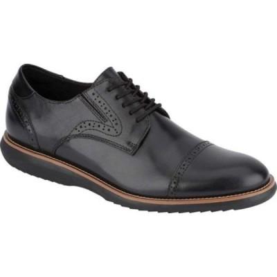 ドッカーズ Dockers メンズ 革靴・ビジネスシューズ シューズ・靴 Beecham Cap Toe Oxford Black Full Grain Leather