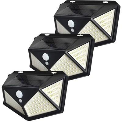 センサーライト ソーラーライト 防犯ライト 屋外 3個セット 屋外照明 防水 人感明暗 3つ点灯モード 太陽光発電 広い照明範囲 庭 玄関