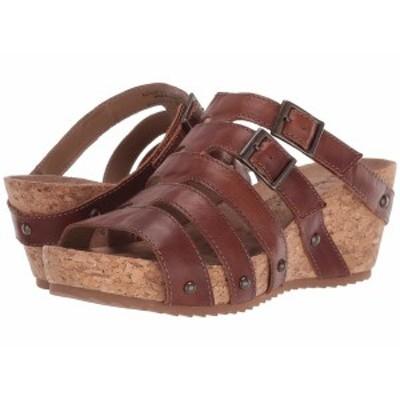 ウォーキング クレイドル レディース ヒール シューズ Tetra Chestnut Rustic Leather