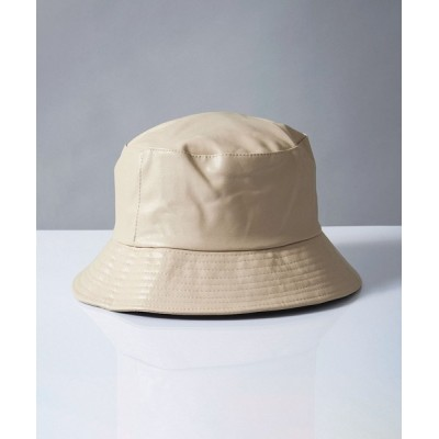 Revo. / 【BENDER TOKYO】エコレザー バケットハット MEN 帽子 > ハット