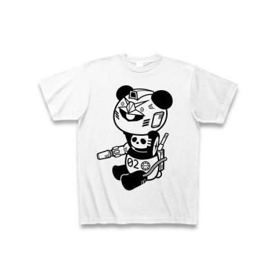 ぱんだ戦士 Tシャツ(ホワイト)