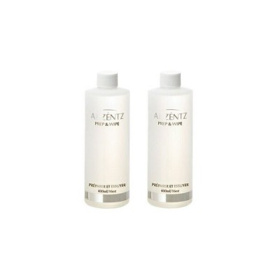 AKZENTZ UV/LED プレップ&ワイプ 480ml 2本セット美容 コスメ 化粧品 コスメチック コスメティック