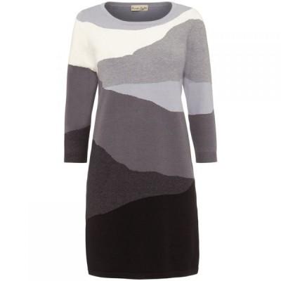 フェイズ エイト Phase Eight レディース ワンピース チュニックドレス ワンピース・ドレス Lorie Landscape Tunic Dress Black/Grey