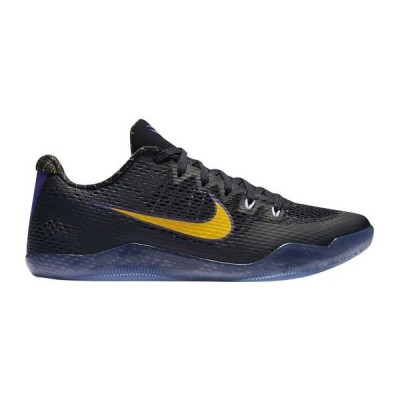 "ナイキ メンズ  コービー11 Nike Kobe XI 11 Low ""Carpe Diem"" バッシュ Black/White/Court Purple/University Gold 高額レア"