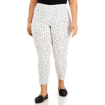 アルファニ カジュアルパンツ ボトムス レディース Plus Size Printed Pull-On Pants, Created for Macy's Abstract Dots
