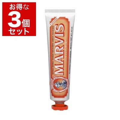 マルヴィス ジンジャーミント 歯磨き粉 もっとお得な3個セット 85ml x 3