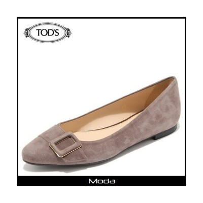 トッズ 靴 レディース TODS 靴 レザーベルトバレリーナ