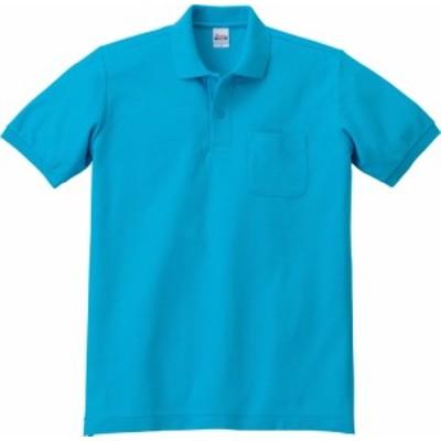 T/Cポロシャツ ポケット付 ホワイトS 00100A