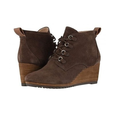 Dr. Scholl's ドクターショール レディース 女性用 シューズ 靴 ブーツ アンクル ショートブーツ Come On Over - Original Collection - Chocolate Brown Suede