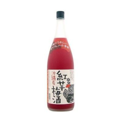 泡盛仕込み梅酒 新里酒造 沖縄産 紅芋梅酒 12度 1800ml