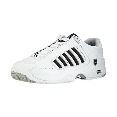 K-Swiss Defier Rs, Chaussures de tennis homme - Blanc (White/Black), 41 EU