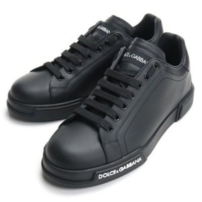 【新品】 ドルチェ&ガッバーナ DOLCE&GABBANA メンズスニーカー CS1774 AA335 8B956 ブラック bos-26 shoes-01 メンズ