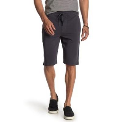 ヴィンス メンズ カジュアルパンツ ボトムス Sweat Shorts BLACK